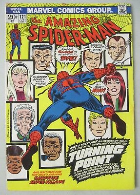 Amazing Spider-Man #121 Marvel Comics 1973 Death Of Gwen Stacy