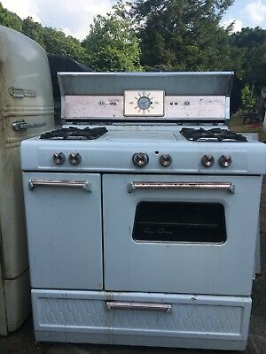 Vintage Kenmore Gas Range With Griddle And Chicken Rotisserie Oven