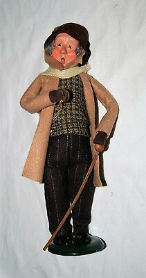 Byers Choice Caroler 2012 - Man with pocket watch