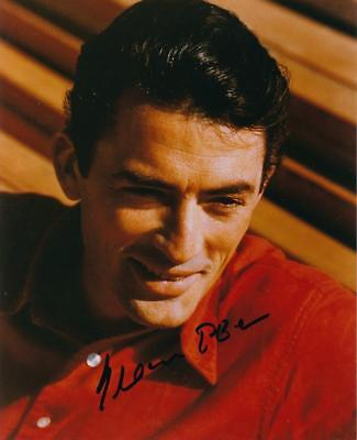 Gregory Peck- Color Glossy Signed Photograph