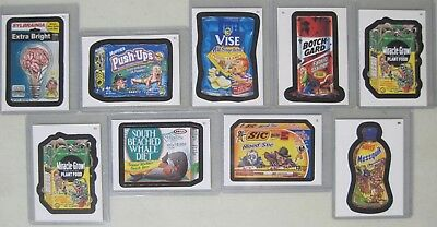 Lot Of 9 Wacky Packages Bonus Stickers 2006-2007