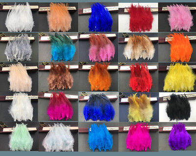 DIY HOT! Beautiful 50pcs rooster tail feathers 10-15cm / 4-6inch