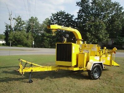 Nice 150 Brush Bandit 12 Inch Disc Chipper 1434 Hours