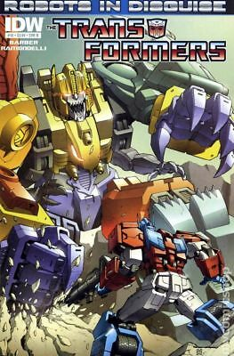 Transformers (IDW) Robots In Disguise #10B 2012 VF Stock Image
