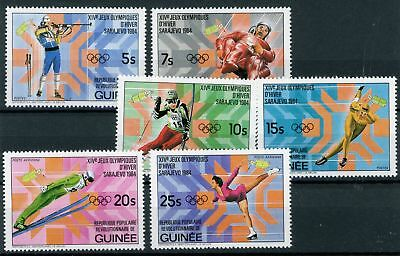 Guinea MiNr. 964-69 postfrisch/ MNH Olympia (Oly910