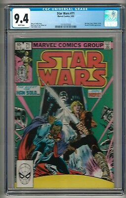 Star Wars #71 (1983) CGC 9.4 White Pages  Duffy - Frenz - Palmer