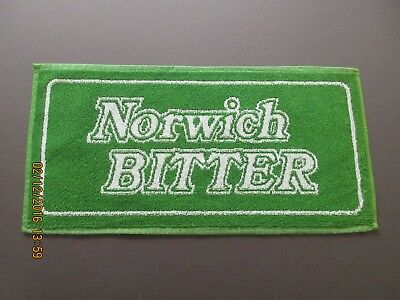 Norwich Bitter Bar Towel In Excellent Condition