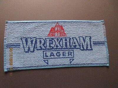 Wrexham Lager Bar Towel In Excellent Condition