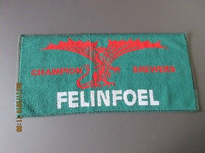 Felinfoel Champion Brewers Bar Towel In Excellent Condition