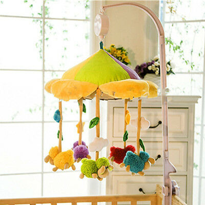 Rotary Baby Infant Mobile Crib Bed Toy Clockwork Movement Kids Music Box Bedding