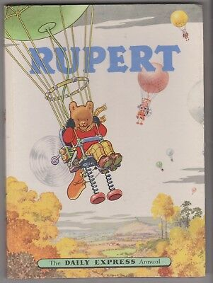 1957 Rupert Bear Annual Superb  Condition, Unclipped, Belongs To Not Completed.