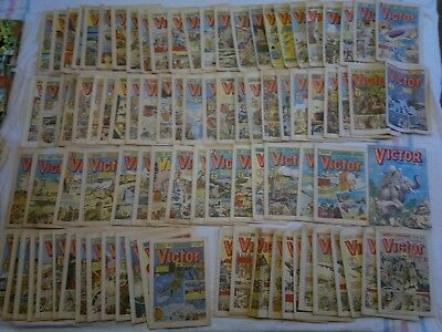 93 Victor Comics Inc:Victor and Scoop,Victor and Hotspur & Victor Summer Special