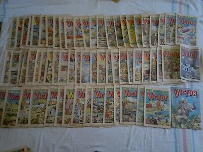 REDUCED 65 Victor Comics and Victor Summer Special 1980-82