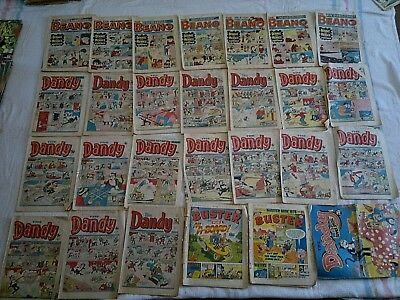 26 Comics Incl: 7 Beano, 17 Dandy and 3 Buster  (1984-88)
