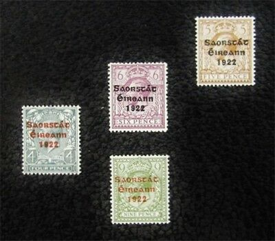 nystamps British Ireland Stamp # 50-53 Mint OG NH $39
