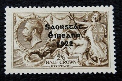 nystamps British Ireland Stamp # 56 Mint OG H $63