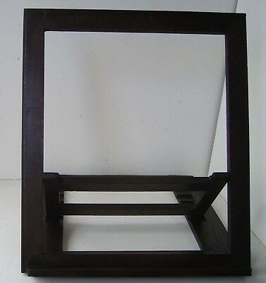 Solid Oak Picture Display Stand Adjustable