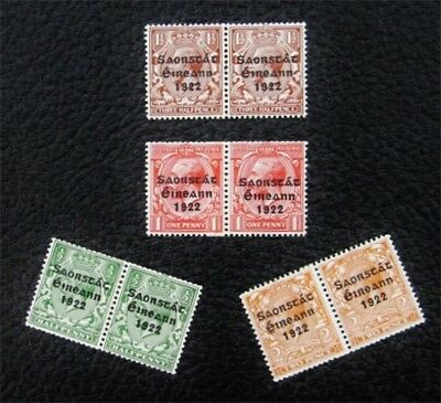 nystamps British Ireland Stamp # 59-62 Mint OG H $65
