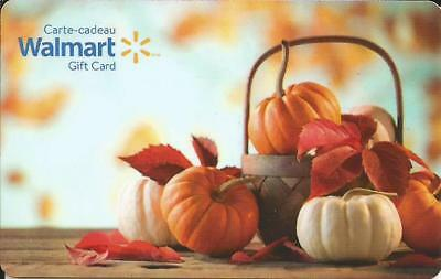 New Halloween 2017 Mint Gift Card From Walmart Canada Bilingual No Value