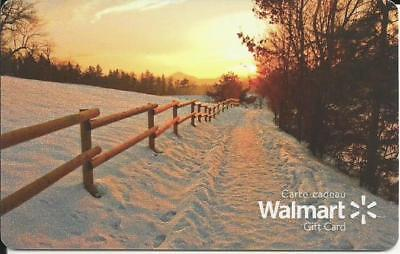 New Winter Scene 2018 Mint Gift Card From Walmart Canada Bilingual