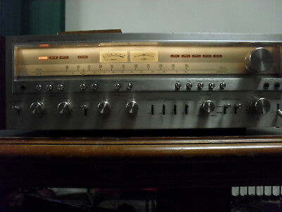 Pioneer stereo Receiver Model SX-1250 FOR PARTS OR REPAIR
