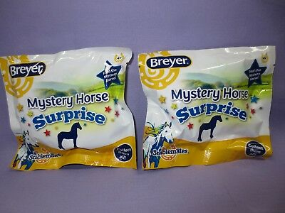 2018 Breyer New Mystery Surprise #6039 - 2 unopened blind bags Stablemate Horse