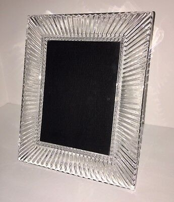 Waterford Crystal Starburst SOMERSET Picture Photo Frame 5x7 Discontinued