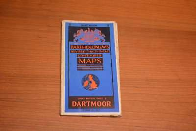 "Bartholomew's Revised ""Half-Inch"" Contoured Maps - Great Britain, Sheet 2 Dartmo"