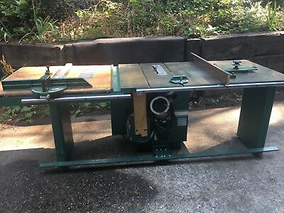 powermatic table saw Model 72 With Production Fence 12 In