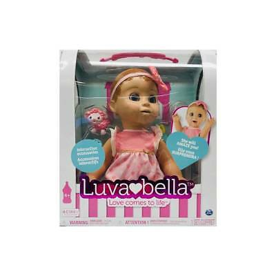 NEW LUVABELLA (BLONDE) INTERACTIVE BABY DOLL w/ ACCESSORIES FREE SHIPPING