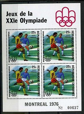 Guinea MiNr. Block 45 A postfrisch/ MNH Olympia 1976 (Oly686
