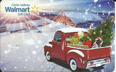 New Christmas 2016 Mint Gift Card From Walmart Canada # 8 Bilingual No Value