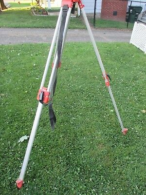 Vintage David White Transit tripod Model # 9050