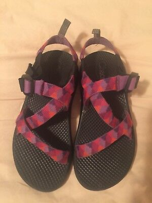 Kids Chacos Sandals Size 3 Youth ZX/1  Sport Multi color straps...