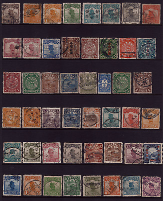 China Stamps, Collection of Old Chinese Stamps