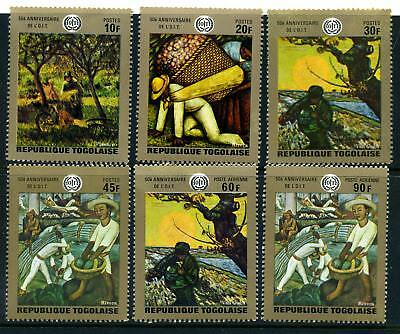 Togo 1969 International Labour Organisation MNH