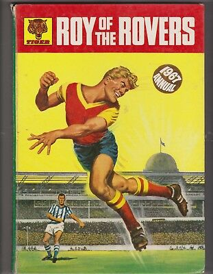 Roy of the Rovers Annual 1967 Vintage Football/Soccer Nostalgia Very Good cond.