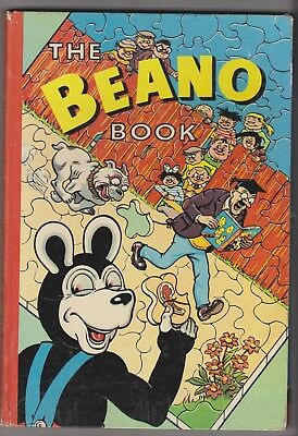 The Beano Book 1960 in superb condition, unclipped, belongs to filled in.