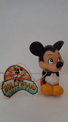Disney Micky Maus Mickey Mouse  Quitscher  ca. 10 cm Vintage