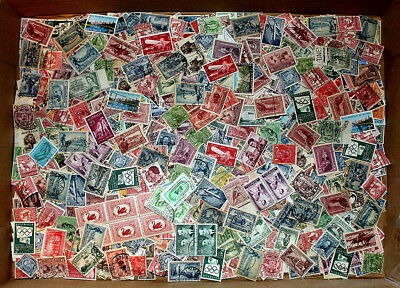 Bulk Lot Of Pre-Decimal Stamps Unsorted - Many High Values