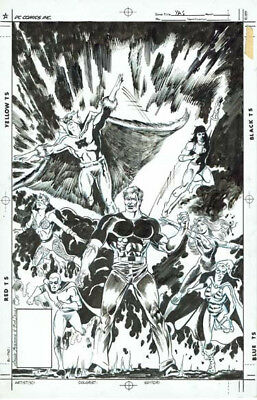 Young All star cover by Lou Manna and Bob Bowns unpublished