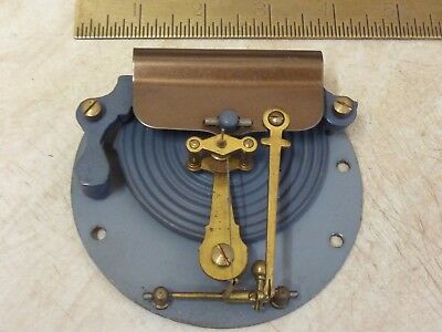 """Good Old 4"""" Aneroid Barometer Movement- Working Fine (D)"""