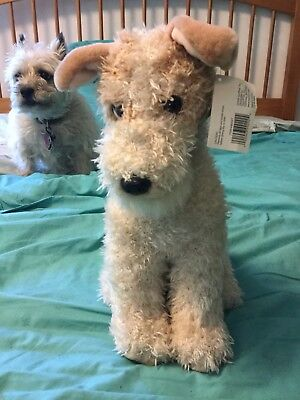 Toys R Us Animal Alley Plush Wirefox Terrier Dog