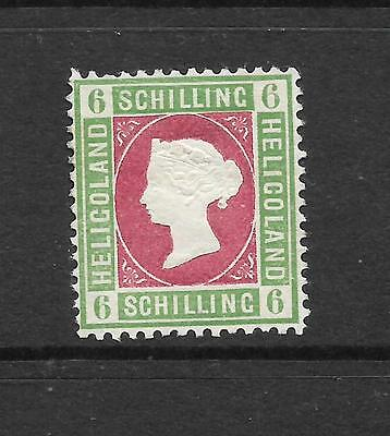 HELIGOLAND  1867-68  6sch   QV   MNG    SG 4