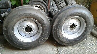 tractor front wheels and tyres 7.50 - 16