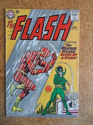 THE FLASH #145 - THE WEATHER WIZZARD - Grade VF- (7.5) to VF (8.0)