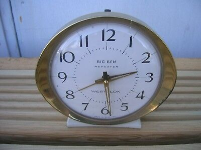 Vintage Westclox Big Ben Repeater Alarm Clock
