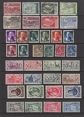 Portugal 1940 - 1949 fine used collection of sets , 66 stamps