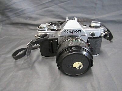 Canon AE-1 Film Camera with Canon 50mm F/1.4 Lens