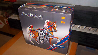 Breyer Porcelain Horse  # 79196  All American Saddlebred In Parade Costume